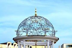 Ornamental colonnade dome Stock Photos