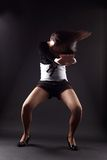 RnB woman dancer Royalty Free Stock Photography