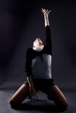 RnB woman dancer Royalty Free Stock Images