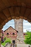 Rnberg del ¼ de NÃ - Kaiserburg Imagenes de archivo