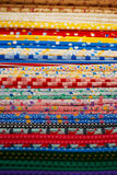 Różni typ tkaniny Zdjęcia Stock