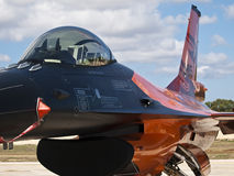 RNLAF Demoteam F-16 库存图片