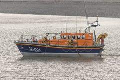 RNLI救生艇 库存图片