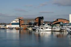 RNLI总部, Poole,多西特 免版税库存图片