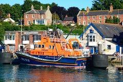 RNLI lifeboat, Weymouth. Stock Photo