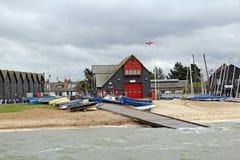 Rnli livräddningsbåtstation Royaltyfria Foton