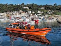 RNLI at Lyme Regis, Dorset Stock Photography