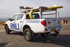 RNLI PICTURES and RNLI Images. RNLI Lifeguard Pictures on New Brighton Beach Stock Photos