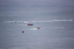 RNLI-Rettungsboote Stockbild