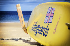 RNLI surfboard Stock Photography