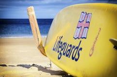 RNLI-Surfbrett Stockfotografie