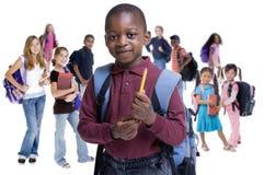 różnorodności dzieciaków szkoła Zdjęcia Royalty Free