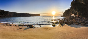 RNP Wattamola bay beach Royalty Free Stock Images