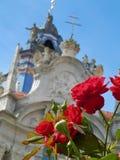 Rnstein do ¼ de DÃ no vale de Wachau (perto de Viena) - rosas Foto de Stock