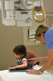 Röntgenstrahl - Kinder Stockfoto