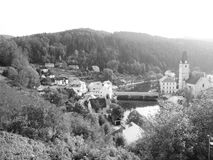 RoÅ ¾ mberk nad Vltavou w cyganerii zdjęcie royalty free