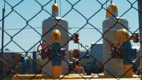 Roślina dla przerobowego gazu naturalnego i produktów przerobu ropy naftowej Produkcja paliwo od surowców naturalnych Magazyn i t zbiory wideo