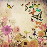 Rośliny i insekty royalty ilustracja