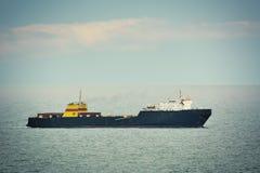 Ro ładunku statek Zdjęcia Royalty Free