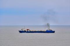 Ro ładunku statek Obrazy Stock