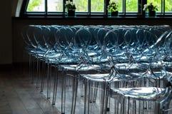 Ro av stolar Royaltyfri Bild