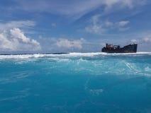 3ro barrera coralina más grande del mundo foto de archivo