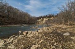 Río bermellón Imagen de archivo