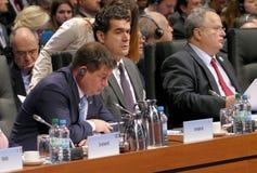 23ro consejo ministerial del OSCE en Hamburgo Fotografía de archivo