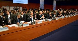 23ro consejo ministerial del OSCE en Hamburgo Imagen de archivo libre de regalías