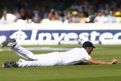 3ro día 2012 del test match de Inglaterra v Suráfrica 4 Imágenes de archivo libres de regalías