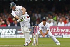 3ro día 2012 del test match de Inglaterra v Suráfrica 1 Imágenes de archivo libres de regalías