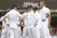 3ro día 2012 del test match de Inglaterra v Suráfrica 2 Foto de archivo