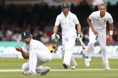 3ro día 2012 del test match de Inglaterra v Suráfrica 1 Fotografía de archivo libre de regalías