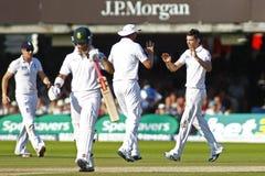 3ro día 2012 del test match de Inglaterra v Suráfrica 4 Fotografía de archivo