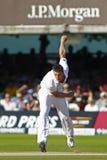 3ro día 2012 del test match de Inglaterra v Suráfrica 4 Foto de archivo libre de regalías