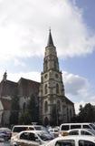 RO de Cluj-Napoca, le 23 septembre : Église St Michael d'Union Square de Cluj-Napoca de région de la Transylvanie en Roumanie Photos libres de droits