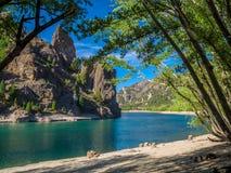 Río de Limay Imagenes de archivo