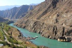 Río de Naryn Imagen de archivo libre de regalías