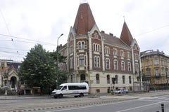RO de Timisoara, le 23 juin : Chambre historique dans la ville de Timisoara du comté de Banat en Roumanie Photographie stock libre de droits