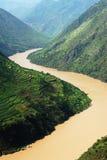 Río de Yangtse Fotografía de archivo libre de regalías
