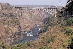 Río de Zambezi Foto de archivo