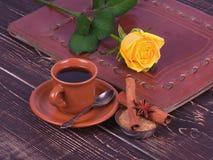 ro för kaffekopp Arkivfoton