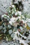 ro för pärla för inbjudan för garnering för dekor för bakgrundsboutonnierekort som gifta sig white Royaltyfri Bild