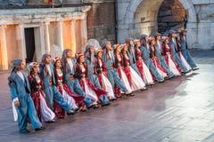21ro festival internacional en Plovdiv, Bulgaria Foto de archivo libre de regalías