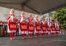 21ro festival internacional en Plovdiv, Bulgaria Foto de archivo