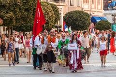 21ro festival internacional en Plovdiv, Bulgaria Fotografía de archivo libre de regalías