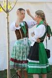 21ro festival internacional Vitosha 2017 del folclore Imagenes de archivo