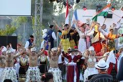 21ro festival internacional Vitosha 2017 del folclore Foto de archivo