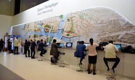 21ro foro económico internacional de St Petersburg Foto de archivo libre de regalías