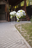 ro för pärla för inbjudan för garnering för dekor för bakgrundsboutonnierekort som gifta sig white Royaltyfria Foton